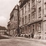 Sklářská ulice v Košťanech (nedatováno)